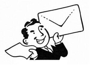 man envelope 300x218 - Letter2Mail